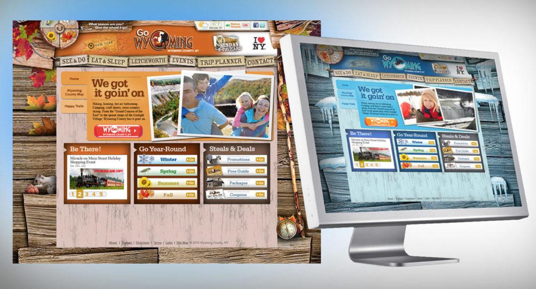 All Seasons Travel Tourism NY Website Design Presentation