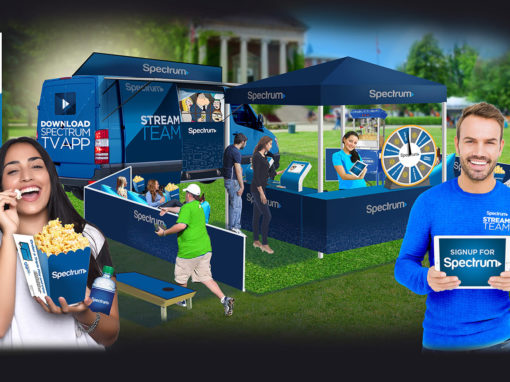 College Event Marketing for Cable Signups