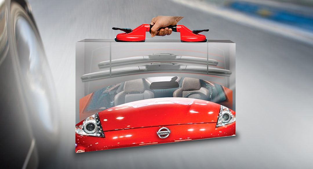 Acrylic Direct Mailer for Wiper Blade Company Automotive
