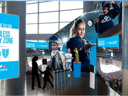 Arena Corporate Sponsorship Graphic Design