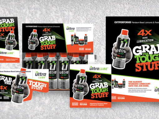 Auto Parts In-Store Display for Lubricants Design