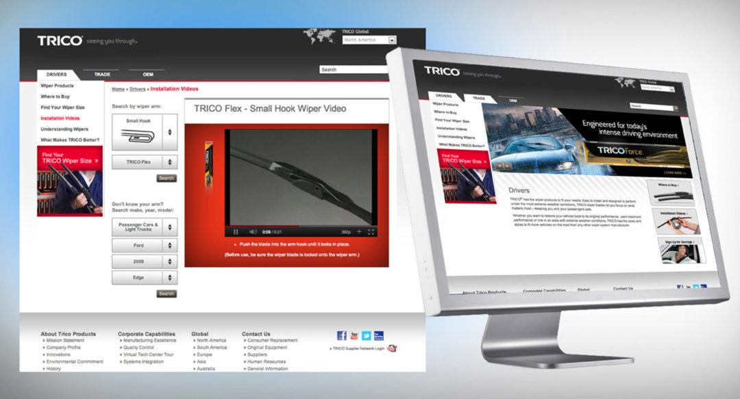 Automotive OEM Aftermarket Website Design