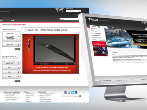 Automotive OEM Aftermarket Website Design