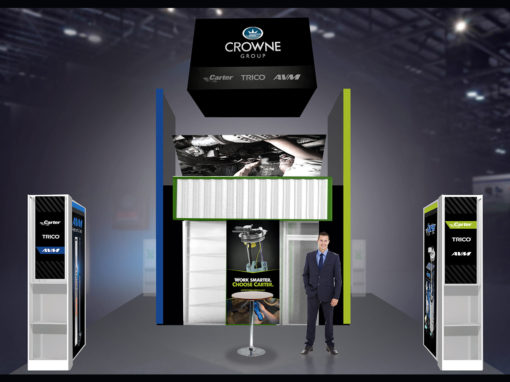 Automotive Tradeshow Family of Brands Design for AAPEX