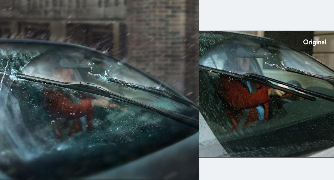 Automotive Video Still Driver Swap Photoshop Work