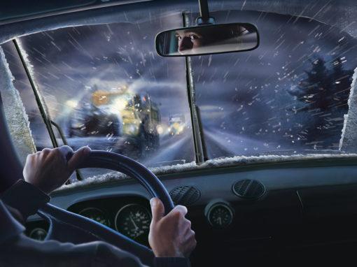 Automotive Wiper Blades Photo Illustration