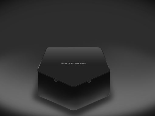 Baseball Homeplate Packaging Blackout Design