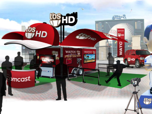 Baseball Television Mobile Marketing Activation