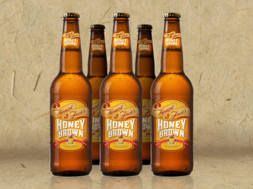 Beer Branded Package Label Design Rendering