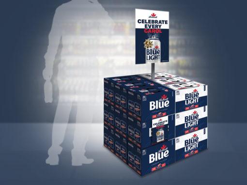 Beer Display Retail Beverage Store