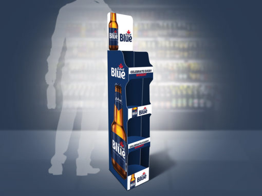 Beer Display Retail Grocery