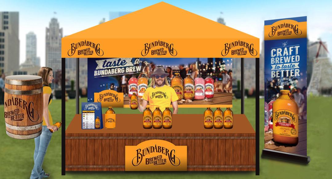 Branded Beverage Sampling Activation