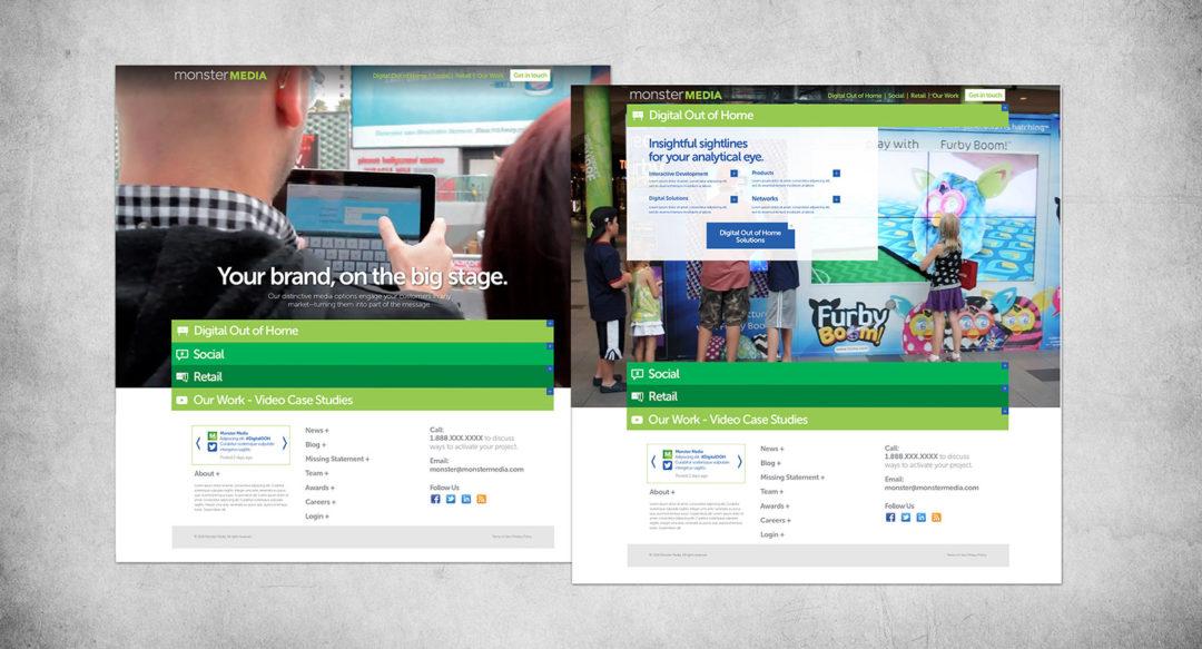 Branding for Tech Company Website Redesign