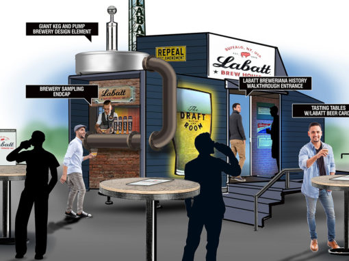 Brewery Trailer Concept Sampling Business Development