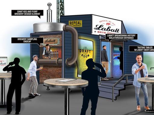 Brewery Trailer Concept Sampling Business Development