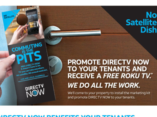 Cable Company Mailer for MDU Promotion