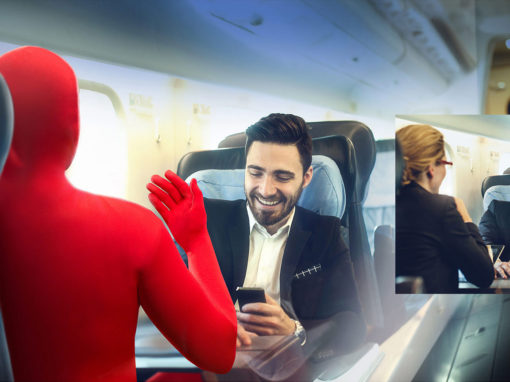 Campaign Character Design Photoshop Airplane