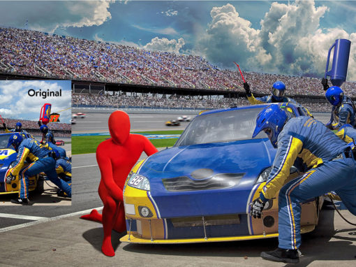 Campaign Character Design Photoshop Imagery Race Car