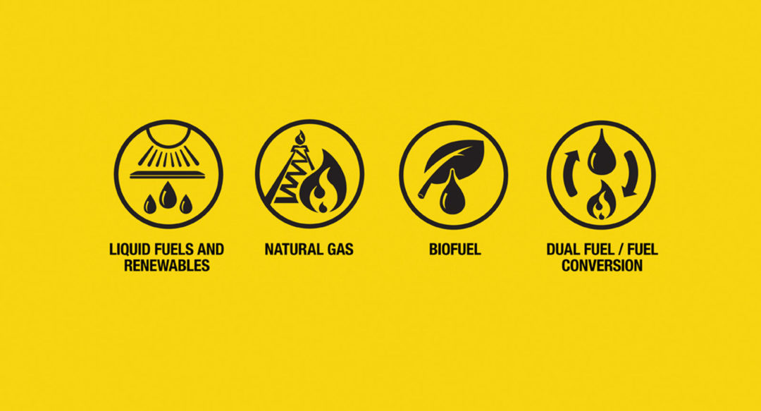 Caterpillar Power Generation Icons for Website