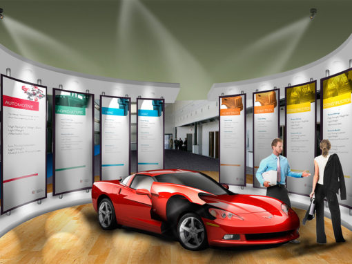 Automotive OEM Showroom Concept Design