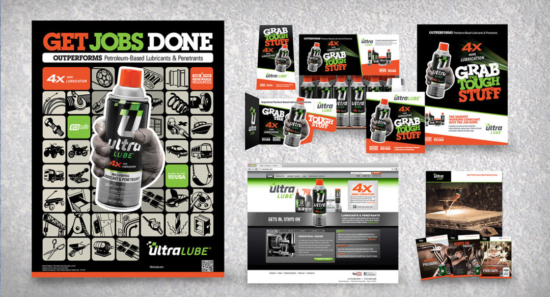 Consumer Brand Lubricant Rebrand