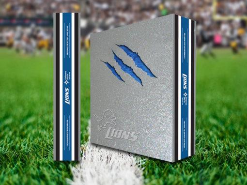 Diecut Box Packaging Design for Football Team Retail
