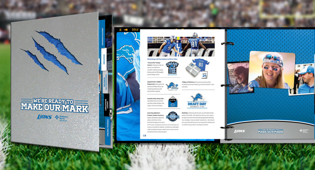 Diecut Box Packaging Design for Football Team and Store Logos