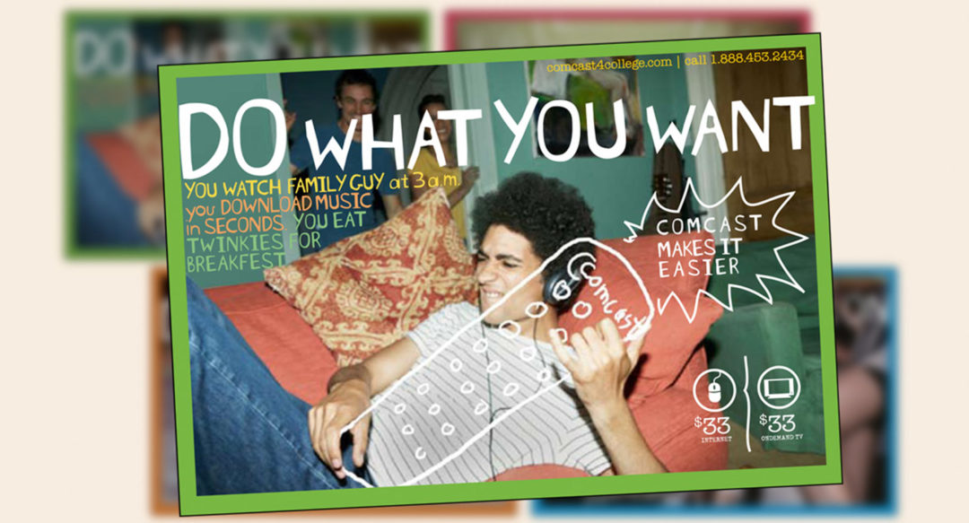 Direct Mail Postcards College Marketing Mailers