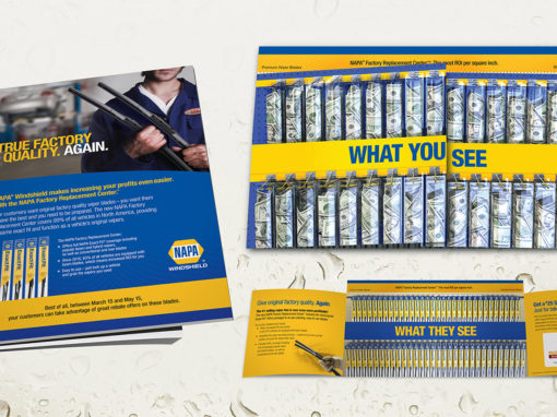 Direct Mailer Design for Automotive Industry
