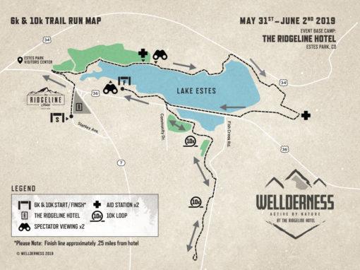 Festival Running Map 10k 5k
