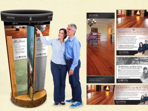 Flooring Display Carousel