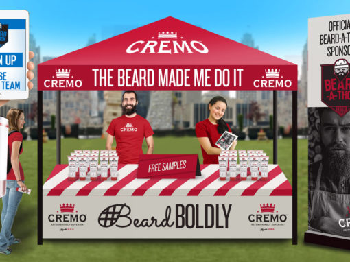 Free Product Sampling 10×10 Tent Popup with Brand Ambassadors