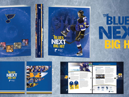 Hockey Team Binder Packaging