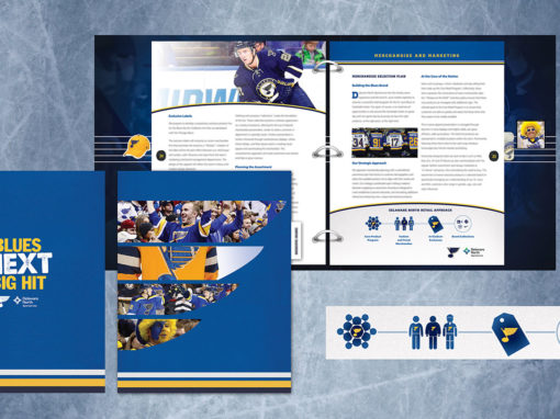Hockey Team Binder Packaging and Retail Logos