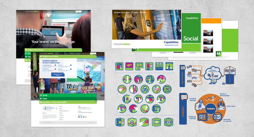 Interactive Technology Campaign Design and Icons