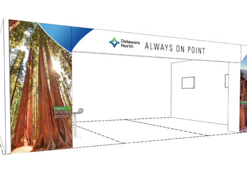 IPW Tradeshow Design for Hospitality