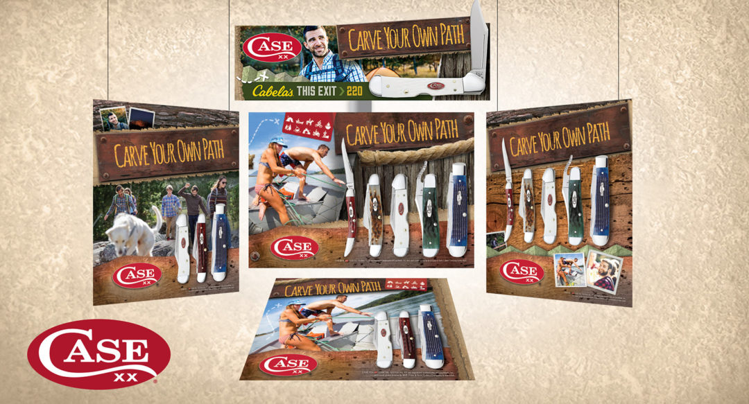 In-Store Knive Brand Display for Cabelas and Bass Pro-Shops