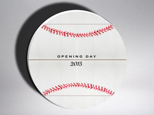 Baseball Homeplate Packaging Design for Opening Day