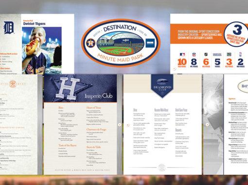 Menu Designs Package for Baseball Team