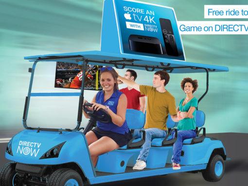 Mobile Marketing Transportation Electric Cart Free Rides
