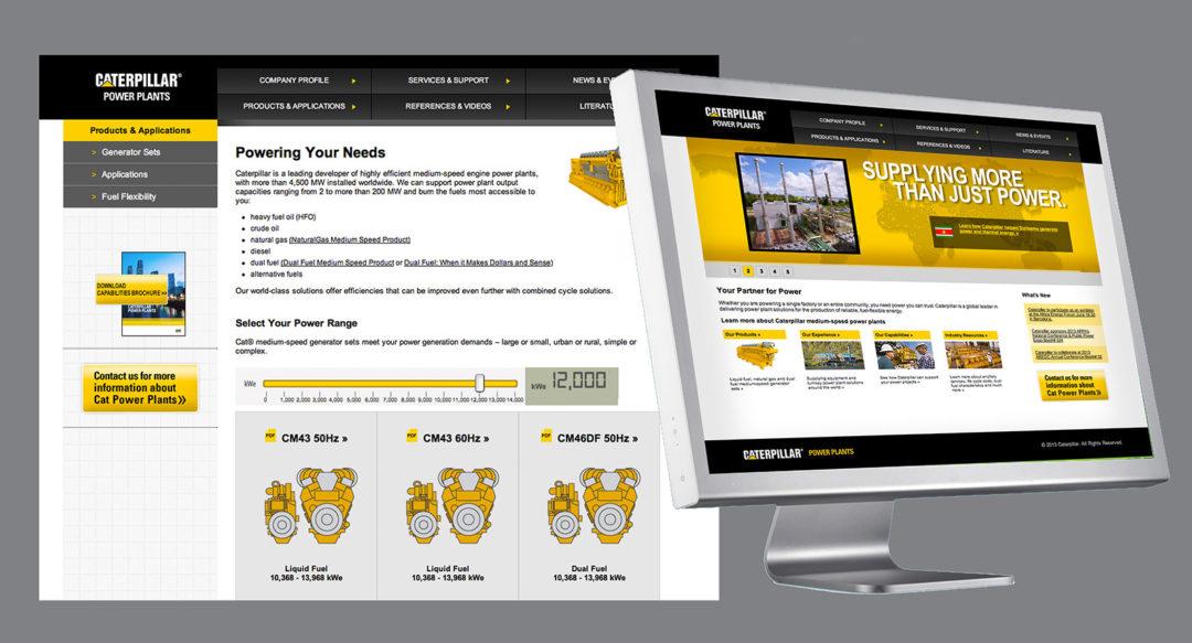 Power Plants Website Design Slider Presentation