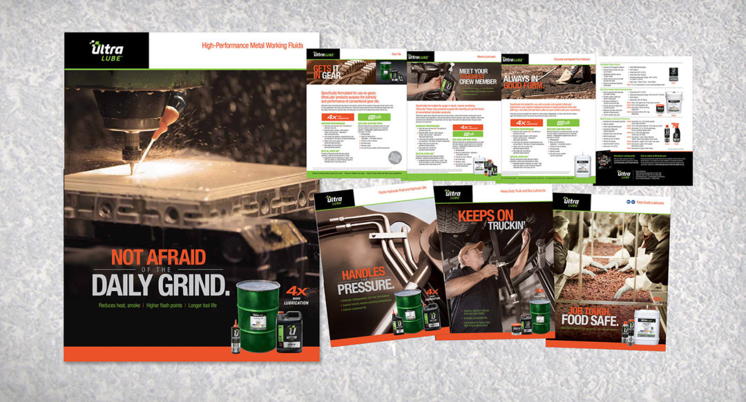 Printed Collateral Sell Sheets Design Presentation