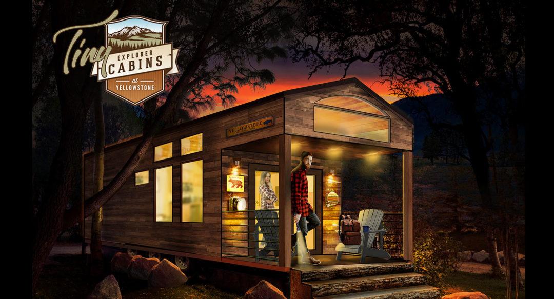 Tiny Explorer Cabins Hospitality Concept