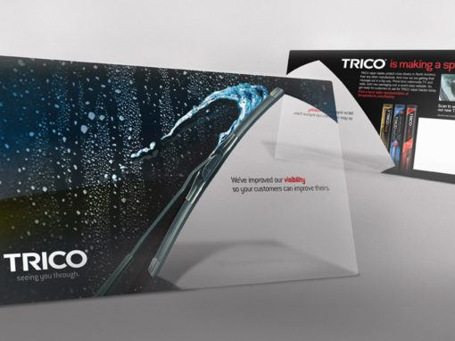 Transparent Direct Mailer Design