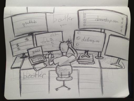 Web Banner Illustration Sketch