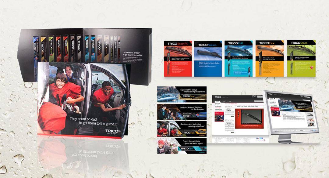Wiper Blade Company Rebrand Presentation Design
