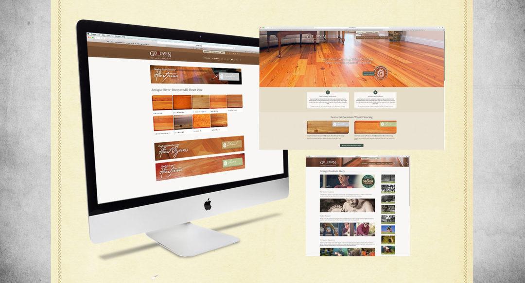 Wood Flooring Company Website Redesign