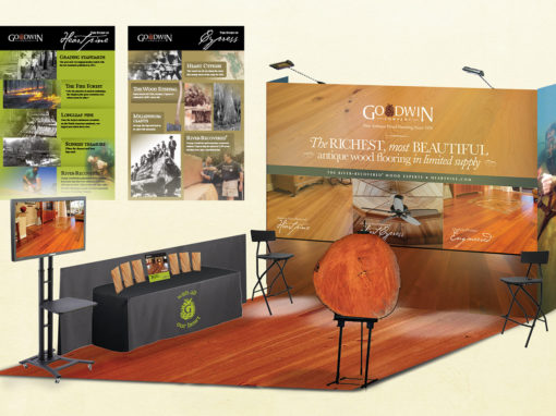 Wood Flooring Tradeshow Booth Design