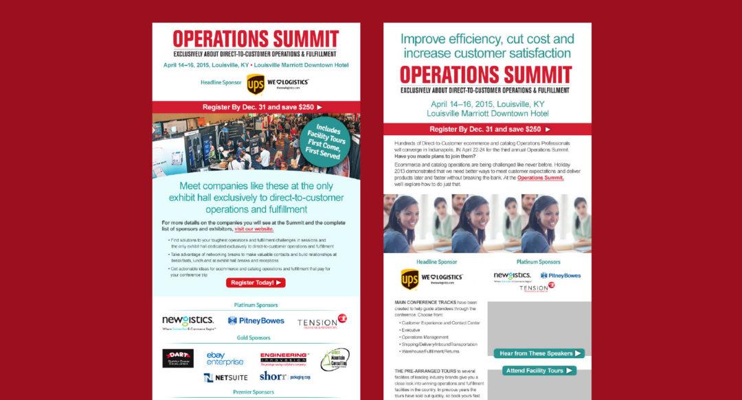 Association Event HTML Email Design