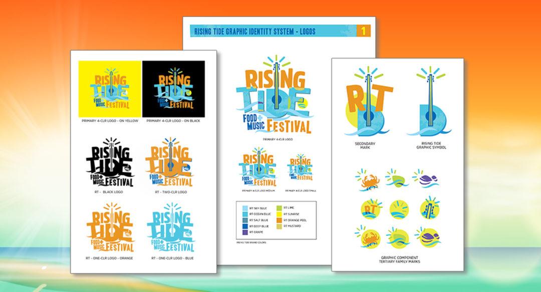 Beach Music Festival Brand Guideline Design